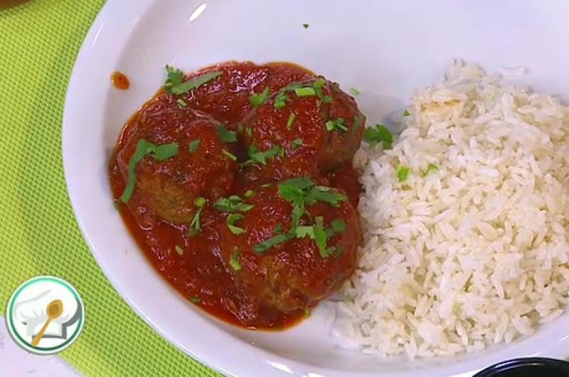 Receta de Secretos de Cocina de Unilever: Albóndigas en salsa