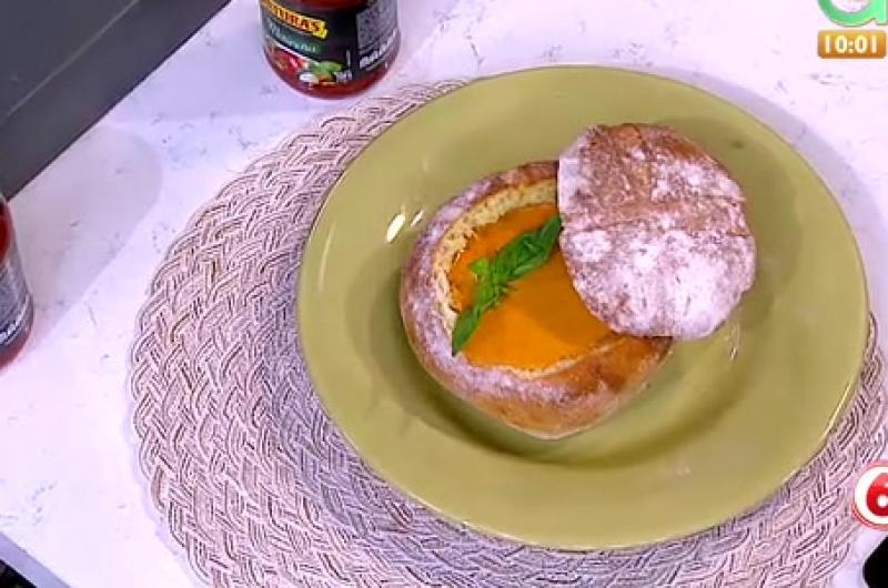 Receta de Secretos de Cocina de Unilever: Crema de Tomates