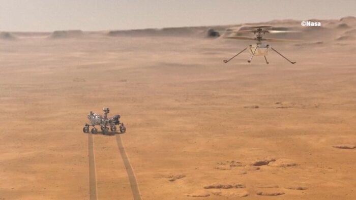 Llega a Marte el rover Perseverance, la más ambiciosa misión espacial de la NASA al planeta rojo