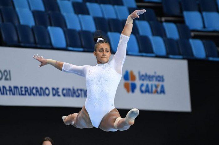 ¡Orgullo! Luciana Alvarado gana medalla de oro en el Panamericano de Gimnasia