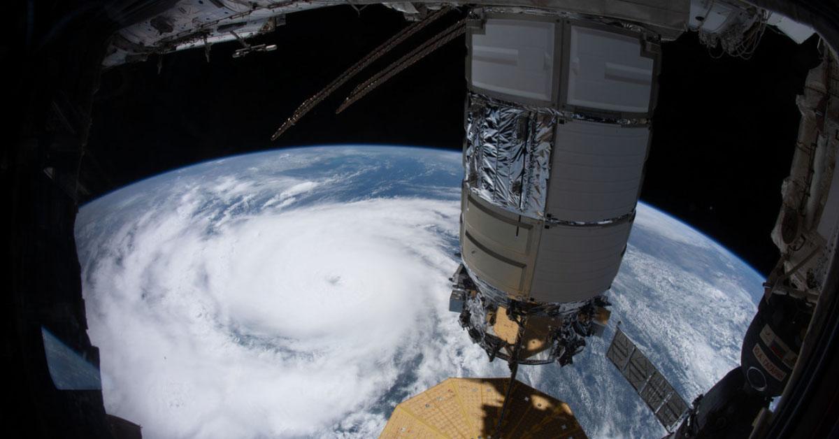 Graban desde el espacio la magnitud del huracán Ida - Repretel